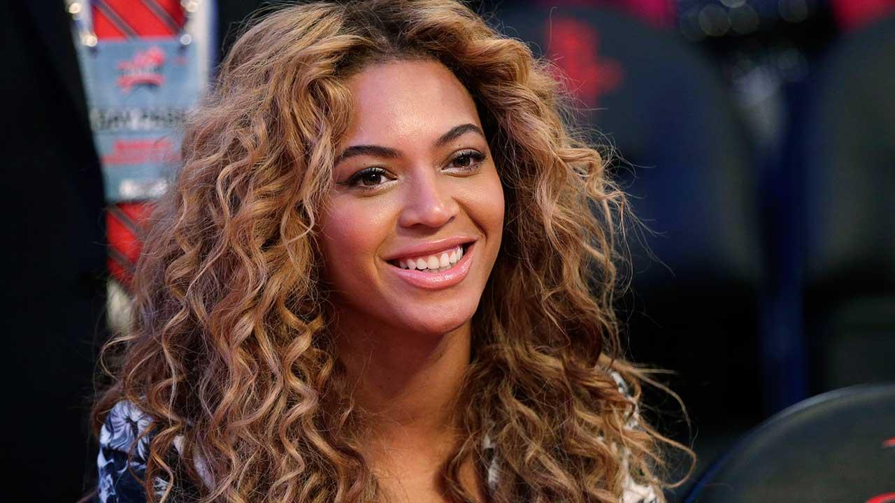 Beyonce in Haiti