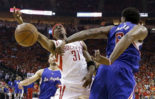 "<div class=""meta image-caption""><div class=""origin-logo origin-image none""><span>none</span></div><span class=""caption-text"">Houston Rockets guard Jason Terry (31) is blocked by Los Angeles Clippers center DeAndre Jordan (6) during the first half in Game 7 (AP Photo/ David J. Phillip)</span></div>"
