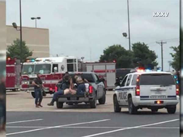 """<div class=""""meta image-caption""""><div class=""""origin-logo origin-image none""""><span>none</span></div><span class=""""caption-text"""">The Waco police department says there have been multiple injuries and fatalities in a shooting at a restaurant.</span></div>"""