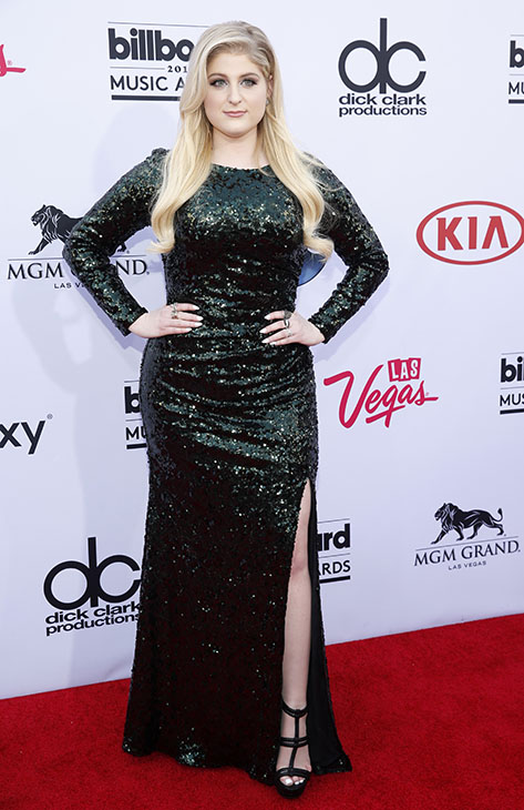 "<div class=""meta image-caption""><div class=""origin-logo origin-image ap""><span>AP</span></div><span class=""caption-text"">Meghan Trainor arrives at the Billboard Music Awards at the MGM Grand Garden Arena on Sunday, May 17, 2015, in Las Vegas. (AP)</span></div>"