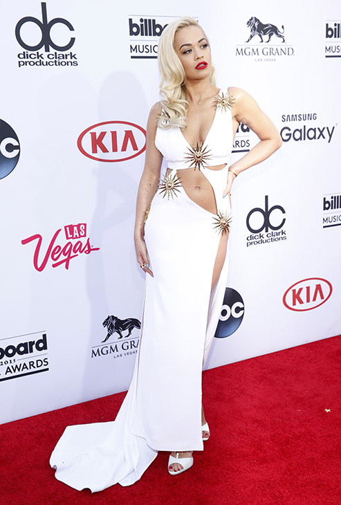 "<div class=""meta image-caption""><div class=""origin-logo origin-image ap""><span>AP</span></div><span class=""caption-text"">Rita Ora arrives at the Billboard Music Awards at the MGM Grand Garden Arena on Sunday, May 17, 2015, in Las Vegas. (AP)</span></div>"