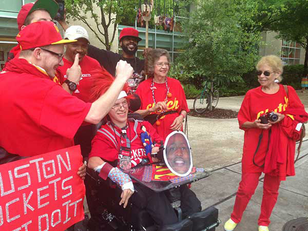 "<div class=""meta image-caption""><div class=""origin-logo origin-image none""><span>none</span></div><span class=""caption-text"">We found no shortage of Houston Rockets fans outside Toyota Center Sunday after the team's Game 7 win over the Clippers (Photo/Christine Dobbyn)</span></div>"