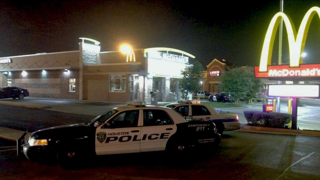 McDonald's homicide scene