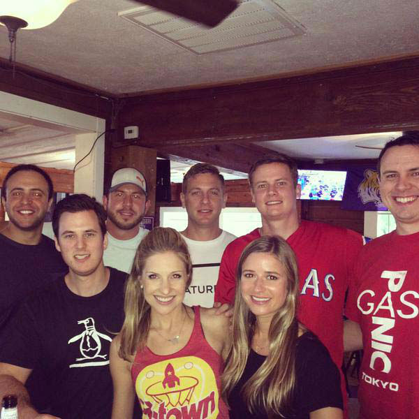"""<div class=""""meta image-caption""""><div class=""""origin-logo origin-image none""""><span>none</span></div><span class=""""caption-text"""">Katherine Whaley with friends during the Rockets game (KTRK Photo)</span></div>"""