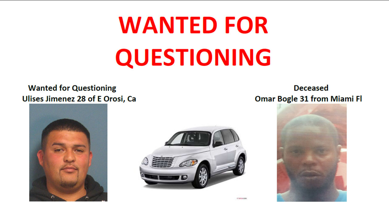 The Body of 31-year-old Omar Bogle of Miami was found in a canal near Orosi on Friday.