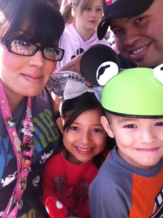 """<div class=""""meta image-caption""""><div class=""""origin-logo origin-image none""""><span>none</span></div><span class=""""caption-text"""">ABC7 News viewers and staff are celebrating Disneyland's 60 years of magic by sharing photos of themselves at the park! (Photo sent to KGO-TV by Vanessa N./Twitter)</span></div>"""