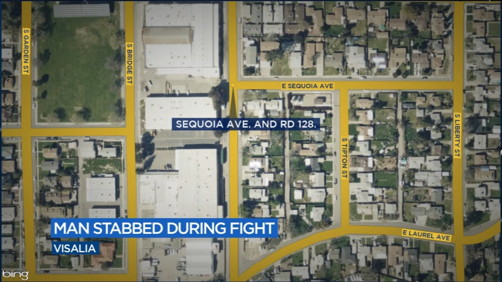 Man stabbed in Visalia, police searching for suspect