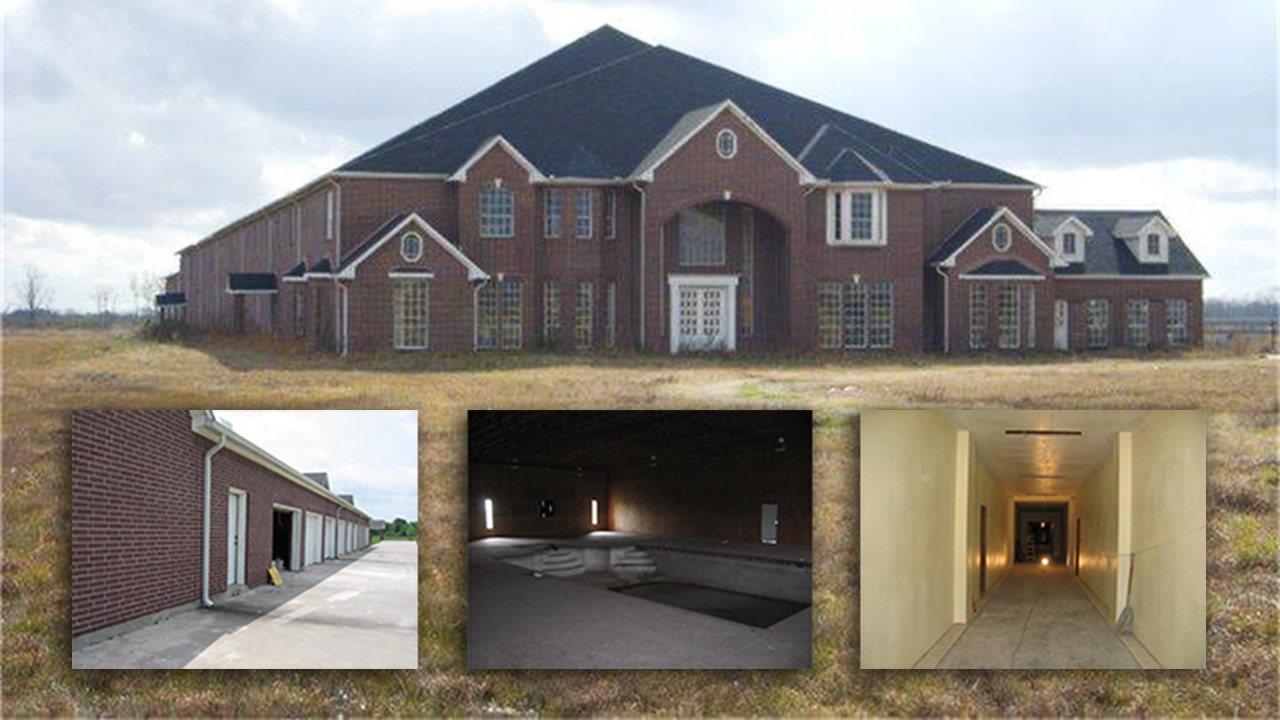 Inside Look At Abandoned 60000 Square Foot Texas Home For Sale Residential Electrical Wiring Cost Per Photos Giant Near Manvel This 60175 Sq Ft