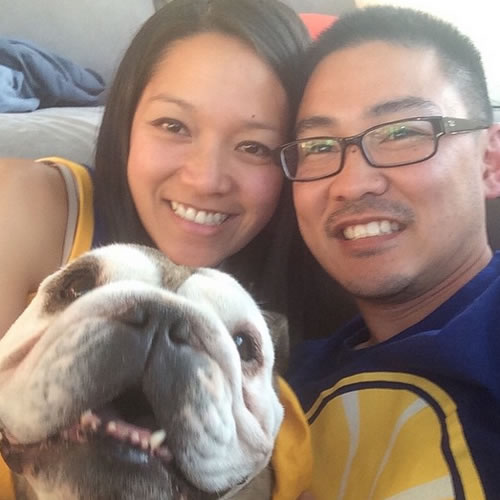 <div class='meta'><div class='origin-logo' data-origin='none'></div><span class='caption-text' data-credit='Photo submitted to KGO-TV by joyappa1016/Instagram'>The Warriors are loved by humans and English bulldogs alike! Tag your photos on Facebook, Twitter, Google Plus, or Instagram using #DubsOn7.</span></div>