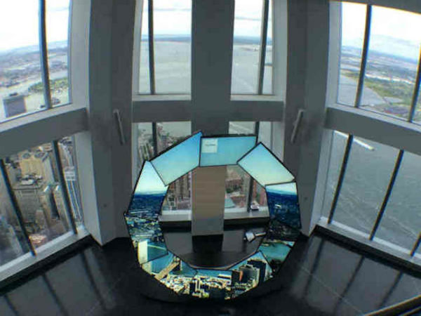 "<div class=""meta image-caption""><div class=""origin-logo origin-image none""><span>none</span></div><span class=""caption-text"">One World Trade Center's new observatory offers spectacular, wraparound views stretching 50 miles past the Manhattan skyline and Statue of Liberty to the Atlantic Ocean.</span></div>"