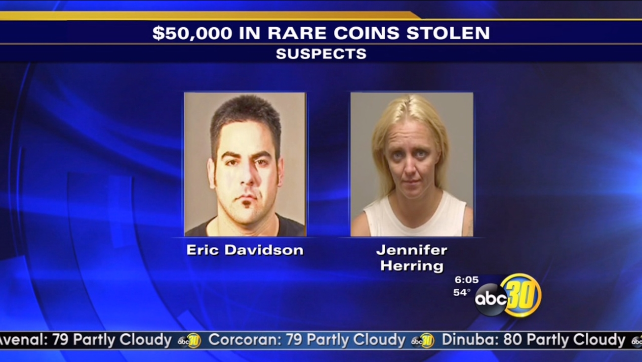 Fresno County deputies seek 2 suspects in theft of rare coins worth $50,000