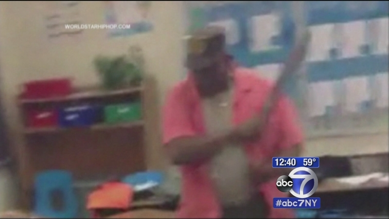 Maryland teacher caught on video hitting students with belt