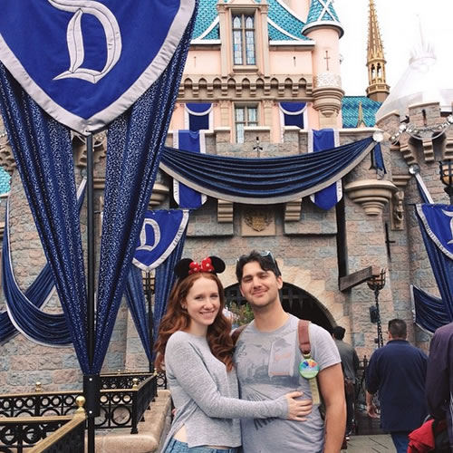 """<div class=""""meta image-caption""""><div class=""""origin-logo origin-image none""""><span>none</span></div><span class=""""caption-text"""">Sleeping Beauty's Castle! ABC7 News viewers and staff are celebrating Disneyland's 60 years of magic by sharing photos of themselves at the park. (Photo submitted to KGO-TV by @juliavonkleinschmidt/Instagram)</span></div>"""