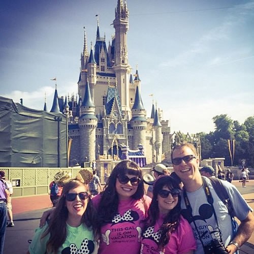 """<div class=""""meta image-caption""""><div class=""""origin-logo origin-image none""""><span>none</span></div><span class=""""caption-text"""">Disney magic! ABC7 News viewers and staff are celebrating Disneyland's 60 years of magic by sharing photos of themselves at the park. (Photo submitted to KGO-TV by Julie G/Instagram)</span></div>"""