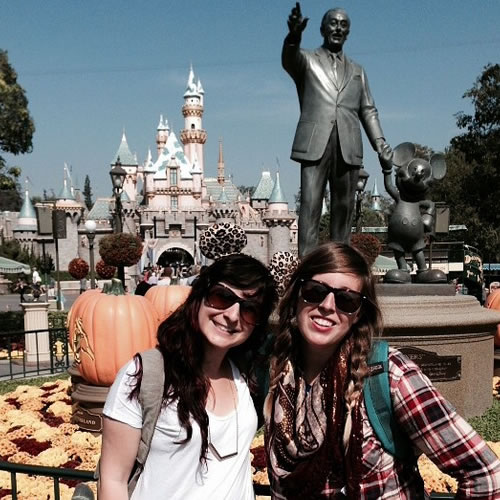 """<div class=""""meta image-caption""""><div class=""""origin-logo origin-image none""""><span>none</span></div><span class=""""caption-text"""">What a great photo with Walt! ABC7 News viewers and staff are celebrating Disneyland's 60 years of magic by sharing photos of themselves at the park. (Photo submitted to KGO-TV by shleaz/Instagram)</span></div>"""