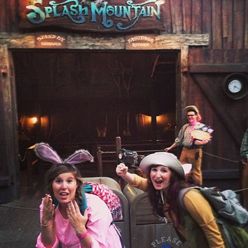 """<div class=""""meta image-caption""""><div class=""""origin-logo origin-image none""""><span>none</span></div><span class=""""caption-text"""">Brer Rabbit and Brer Fox are going to their laughing place. ABC7 News viewers and staff are celebrating Disneyland's 60 years of magic by sharing photos of themselves at the park. (Photo submitted to KGO-TV by shleaz/Instagram)</span></div>"""