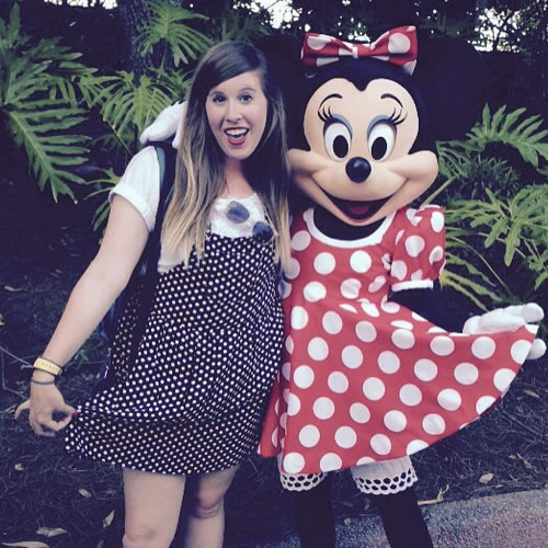 """<div class=""""meta image-caption""""><div class=""""origin-logo origin-image none""""><span>none</span></div><span class=""""caption-text"""">Minnie and Simone are rocking matching polka dots. ABC7 News viewers and staff are celebrating Disneyland's 60 years of magic by sharing photos of themselves at the park. (Photo submitted to KGO-TV by simown/Instagram)</span></div>"""
