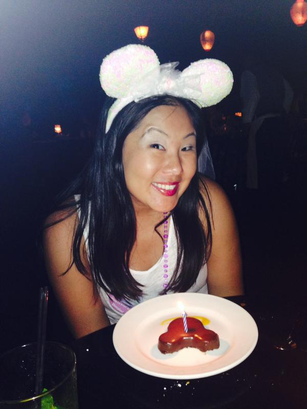 """<div class=""""meta image-caption""""><div class=""""origin-logo origin-image none""""><span>none</span></div><span class=""""caption-text"""">Disneyland is the BEST place for a bachelorette party! ABC7 News viewers and staff are celebrating Disneyland's 60 years of magic by sharing photos of themselves at the park. (Photo submitted to KGO-TV by Kimmie S/Twitter)</span></div>"""