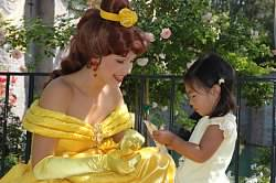 """<div class=""""meta image-caption""""><div class=""""origin-logo origin-image none""""><span>none</span></div><span class=""""caption-text"""">ABC7 News Anchor Kristin Sze's daughter met Princess Belle! ABC7 News viewers and staff are celebrating Disneyland's 60 years of magic by sharing photos of themselves at the park. (Photo submitted to KGO-TV by ABC7 News Anchor Kristen Sze/Twitter)</span></div>"""