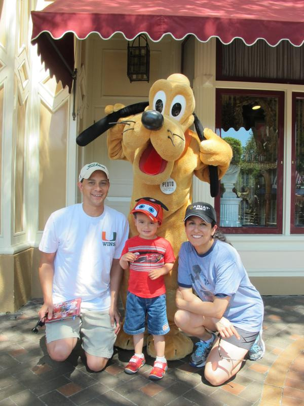 """<div class=""""meta image-caption""""><div class=""""origin-logo origin-image none""""><span>none</span></div><span class=""""caption-text"""">Everyone loves Pluto! ABC7 News viewers and staff are celebrating Disneyland's 60 years of magic by sharing photos of themselves at the park. (Photo submitted to KGO-TV by Sean D/Twitter)</span></div>"""