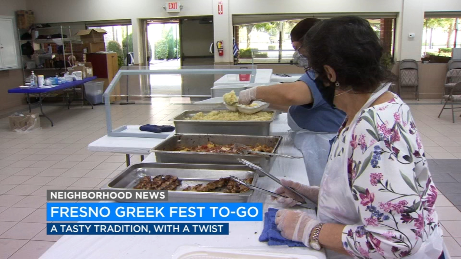 Fresno's Greek Festival held as drive-thru event due to COVID-19