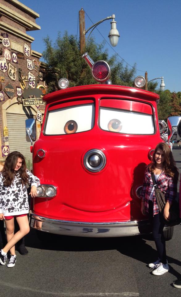 """<div class=""""meta image-caption""""><div class=""""origin-logo origin-image none""""><span>none</span></div><span class=""""caption-text"""">Everyone loves """"Cars""""! ABC7 News viewers and staff are celebrating Disneyland's 60 years of magic by sharing photos of themselves at the park. (Rhonda Holland-Ferreira/Facebook)</span></div>"""