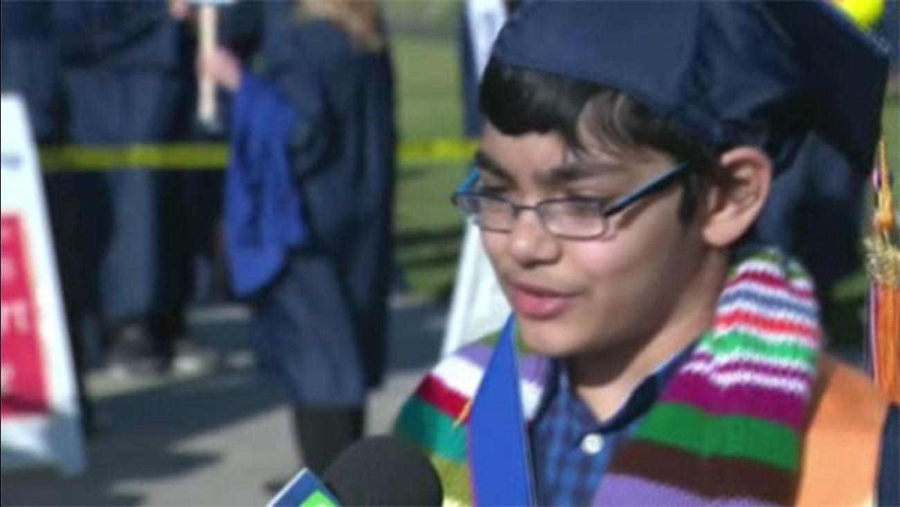 11-year-old graduates college in California
