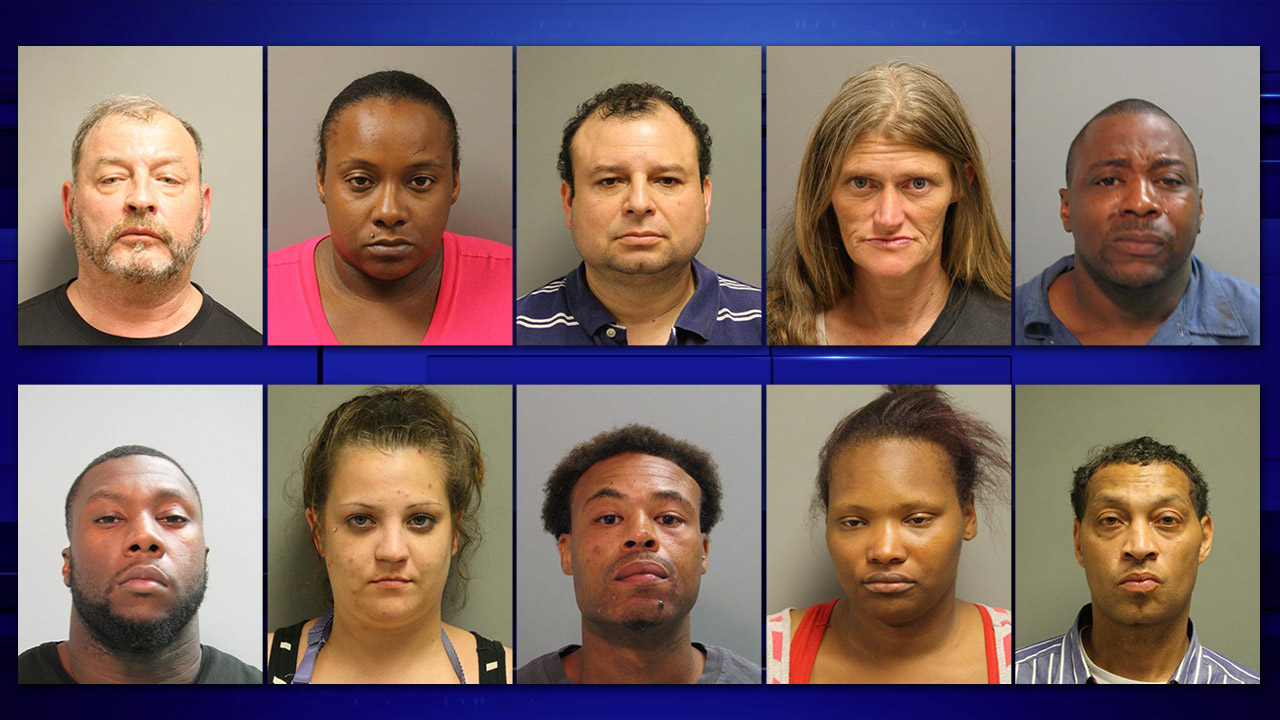 Prostitution arrests