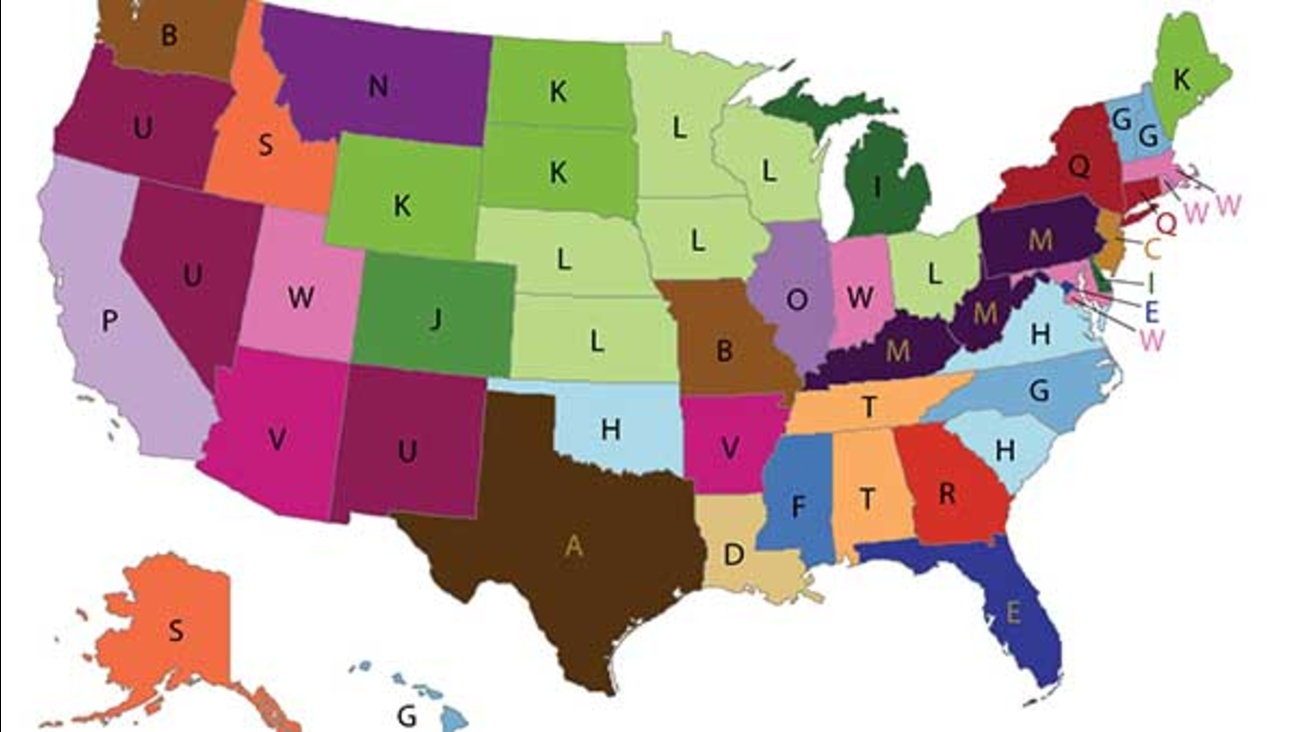 MAP: CDC lists most distinct causes of in every state in ... Cdc Map on