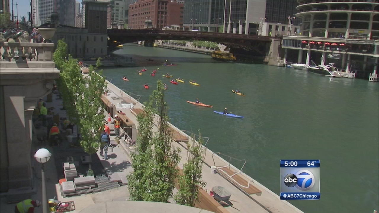 Chicago Riverwalk to open from State to Clark
