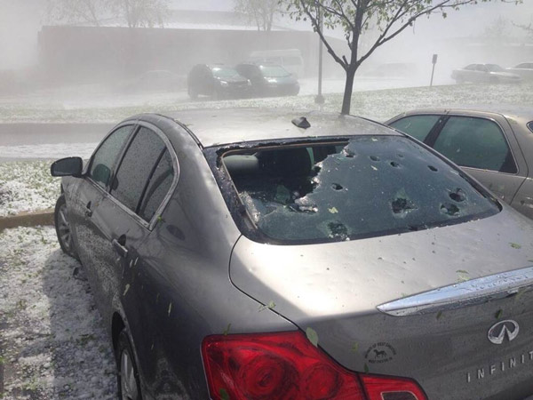 """<div class=""""meta image-caption""""><div class=""""origin-logo origin-image """"><span></span></div><span class=""""caption-text"""">Taylor Franco tweeted this photo of the hail storm on May 22, 2014 in Wyomissing, Pa.</span></div>"""