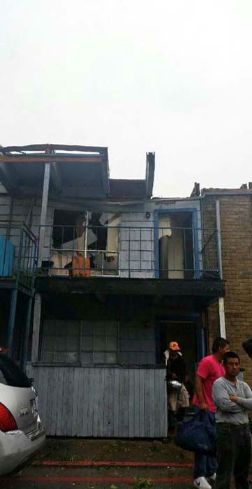 """<div class=""""meta image-caption""""><div class=""""origin-logo origin-image none""""><span>none</span></div><span class=""""caption-text"""">Damage seen where and apartment building partially collapsed in southwest Houston (KTRK Photo)</span></div>"""