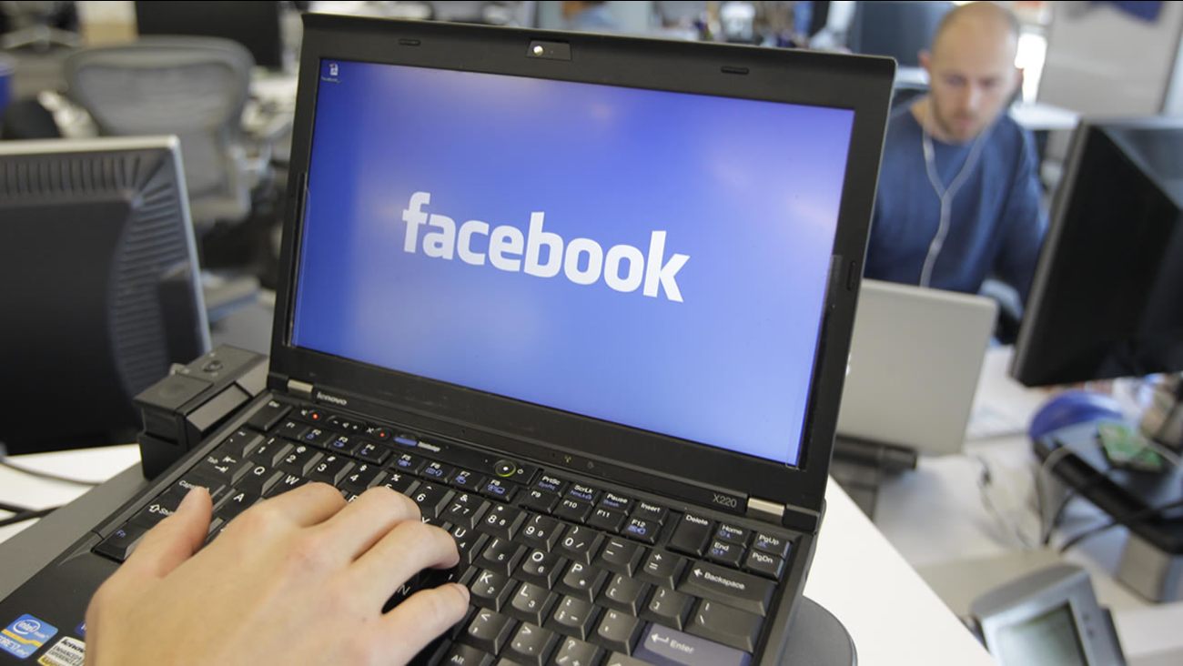 This Feb. 8, 2012 file photo shows a view inside Facebook headquarters in Menlo Park, Calif. (AP Photo/Paul Sakuma, File)
