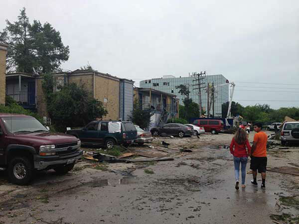 """<div class=""""meta image-caption""""><div class=""""origin-logo origin-image none""""><span>none</span></div><span class=""""caption-text"""">A view of the damage in southwest Houston after severe weather hit the area. (KTRK Photo/Steve Campion)</span></div>"""