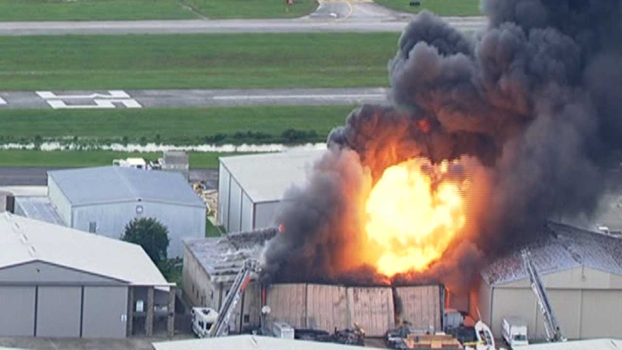 "<div class=""meta image-caption""><div class=""origin-logo origin-image none""><span>none</span></div><span class=""caption-text"">A massive fire broke out at a private hangar at Hooks Airport in northwest Harris County (Photo/KTRK Photo)</span></div>"