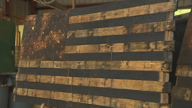 Local Man Honors Those Who Serve With Remarkable Artwork