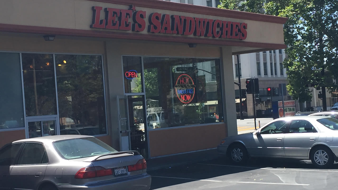 A Lee's Sandwiches shop in San Jose, Calif. on Monday, May 25, 2015.
