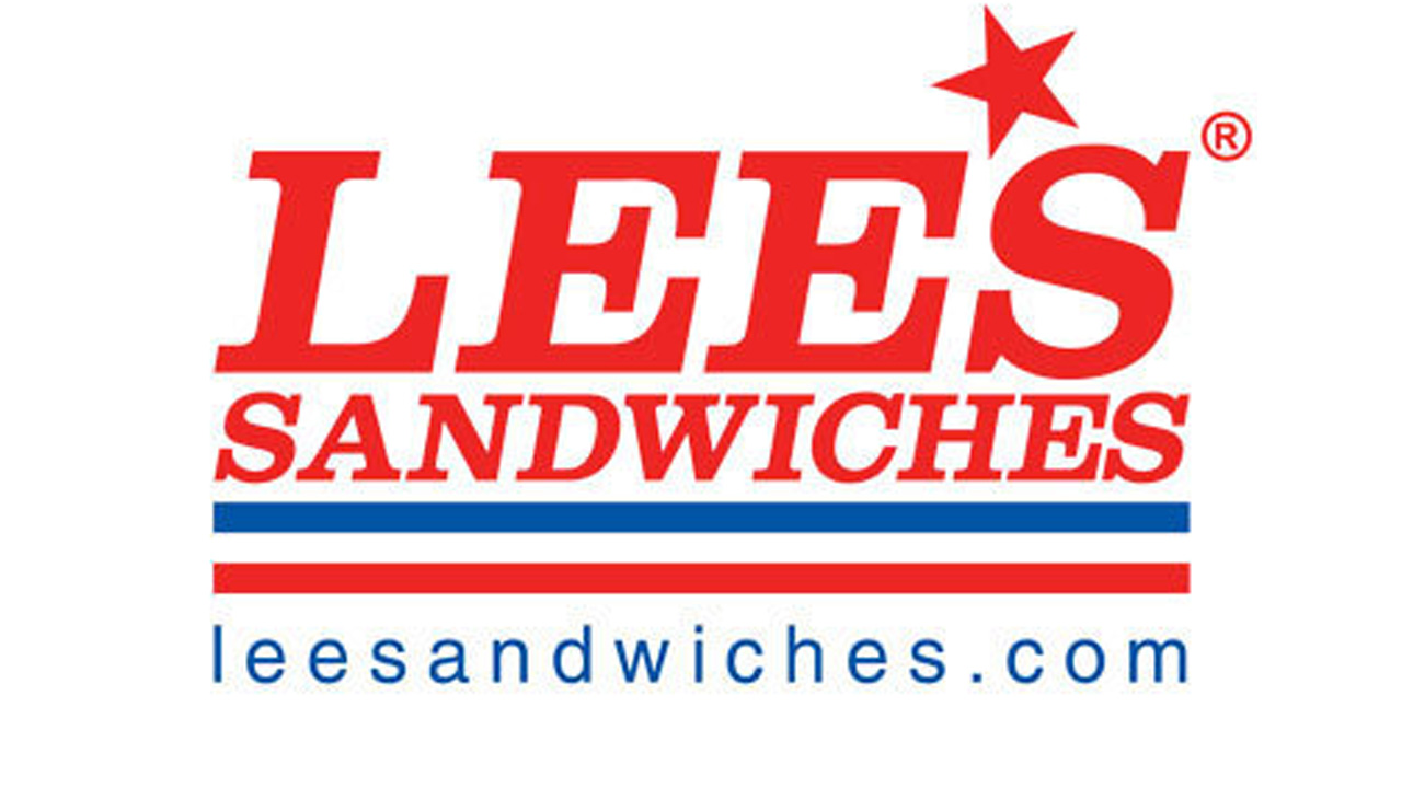 Lee's Sandwiches' logo is seen in this file photo.