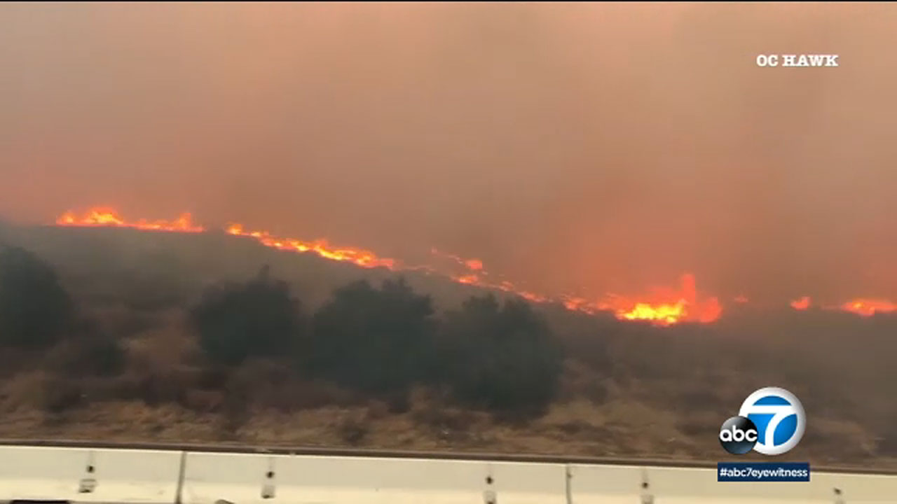 Silverado Canyon Fire update: Irvine blaze at 32% containment, 13K acres burned