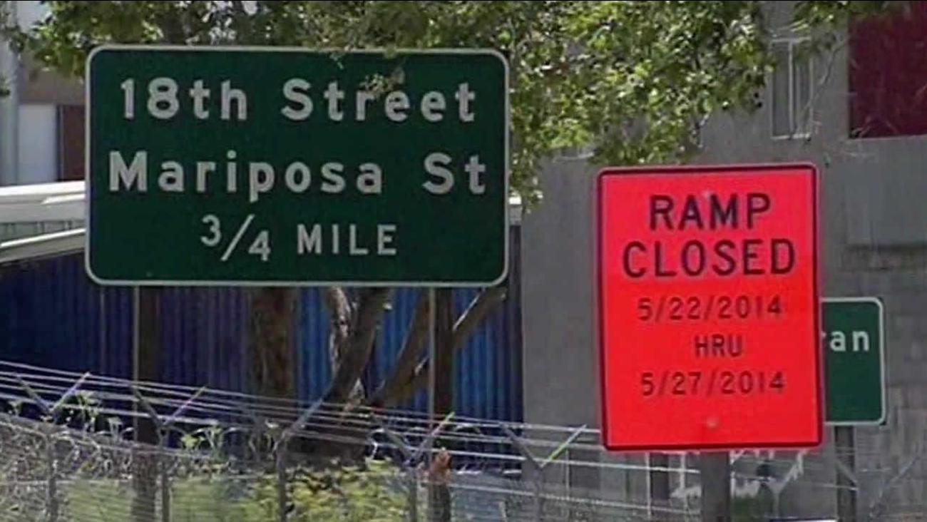 I-280 closure