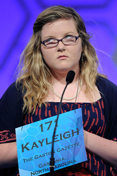 "<div class=""meta image-caption""><div class=""origin-logo origin-image none""><span>none</span></div><span class=""caption-text"">Kayleigh Guffey, 13, of Gastonia, N.C., spells the word ""altruism"" during the 2015 Scripps National Spelling Bee in Oxon Hill, Md., May 27, 2015. (Photo/AP)</span></div>"
