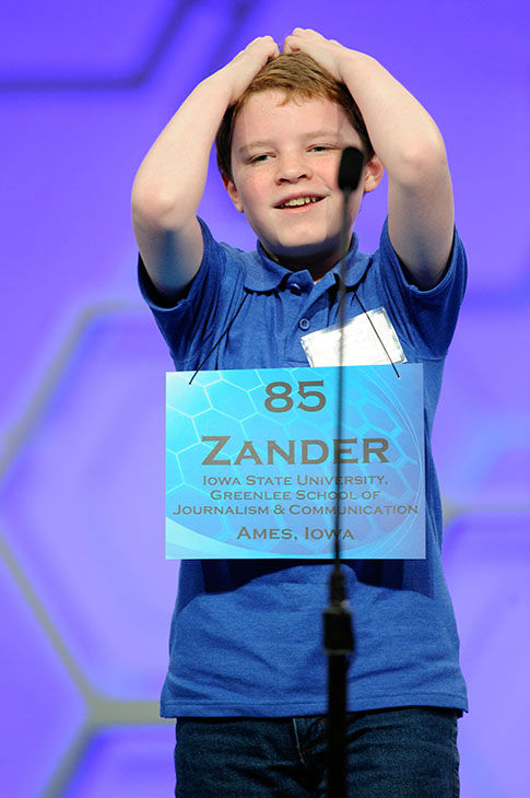 "<div class=""meta image-caption""><div class=""origin-logo origin-image none""><span>none</span></div><span class=""caption-text"">Zander Reed, 12, of Ames, Iowa, reacts after misspelling his word during the 2015 Scripps National Spelling Bee in Oxon Hill, Md., (Photo/AP)</span></div>"
