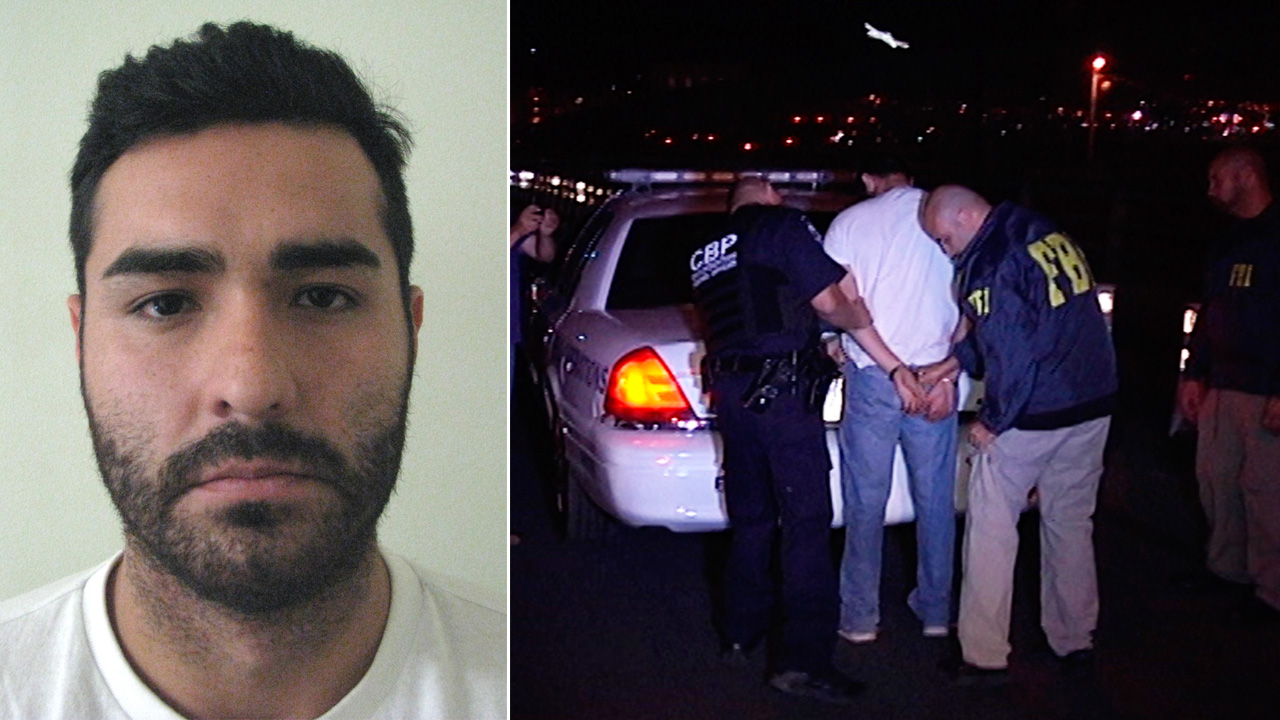 Henry Solis is handed to FBI agents from Mexican authorities after his arrest on Tuesday, May 26, 2015.