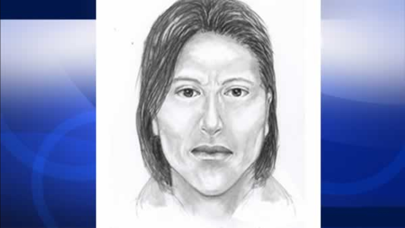 Investigators hope this sketch will help them arrest a man who violently attacked a woman in San Francisco on Saturday, May 9, 2015.
