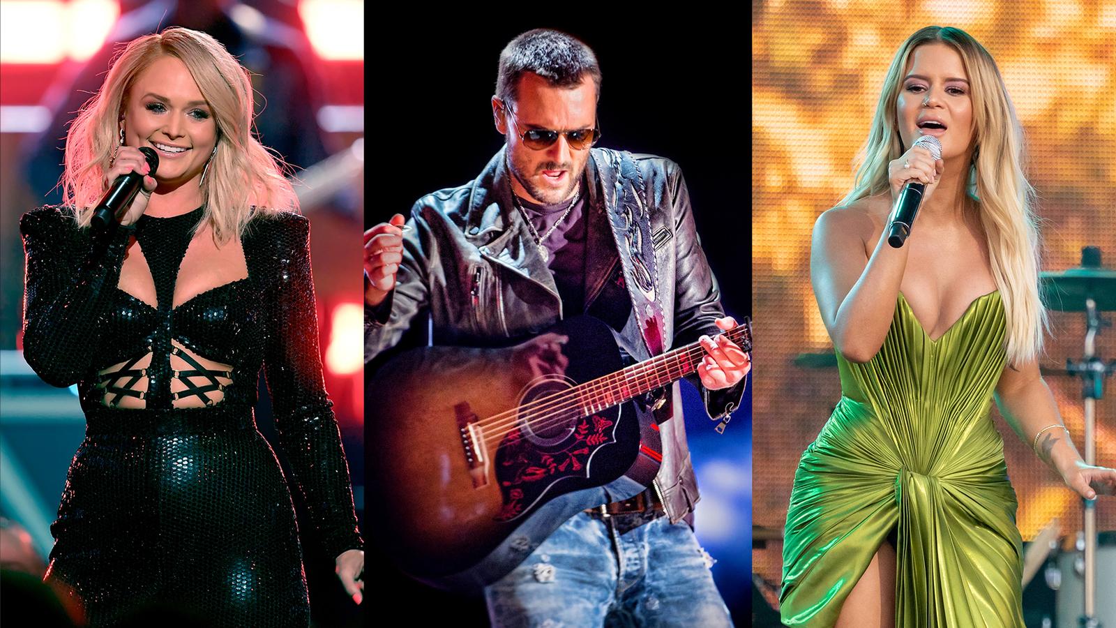 2020 CMA Awards performers include Miranda Lambert, Eric Church, Maren Morris, Florida Georgia Line