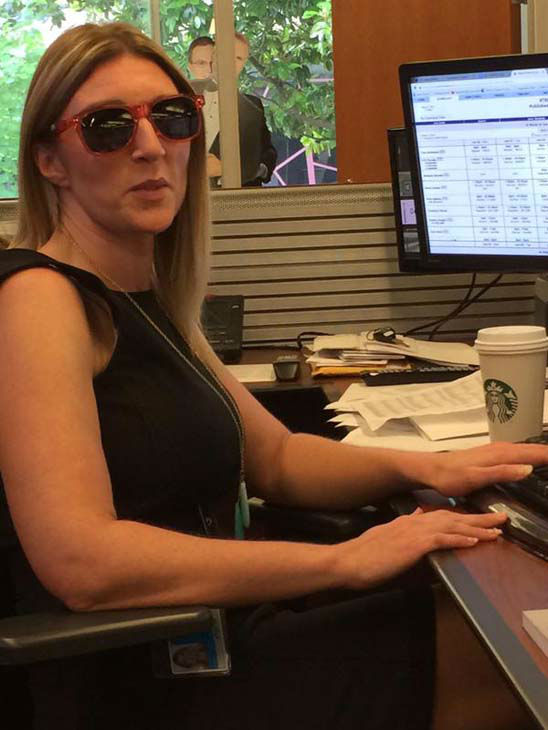 """<div class=""""meta image-caption""""><div class=""""origin-logo origin-image none""""><span>none</span></div><span class=""""caption-text"""">Assignment manager Julie Griffin keeping her cool during storm coverage (KTRK Photo)</span></div>"""