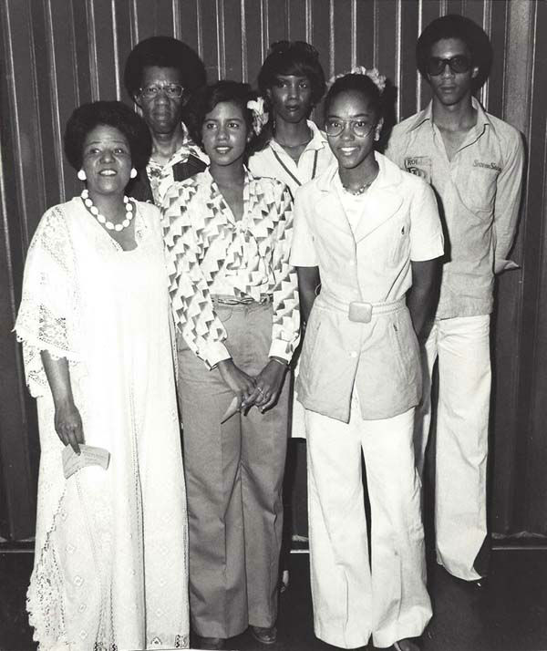 <div class='meta'><div class='origin-logo' data-origin='none'></div><span class='caption-text' data-credit='KTRK Photo'>Melanie Lawson and her family back in the day!</span></div>