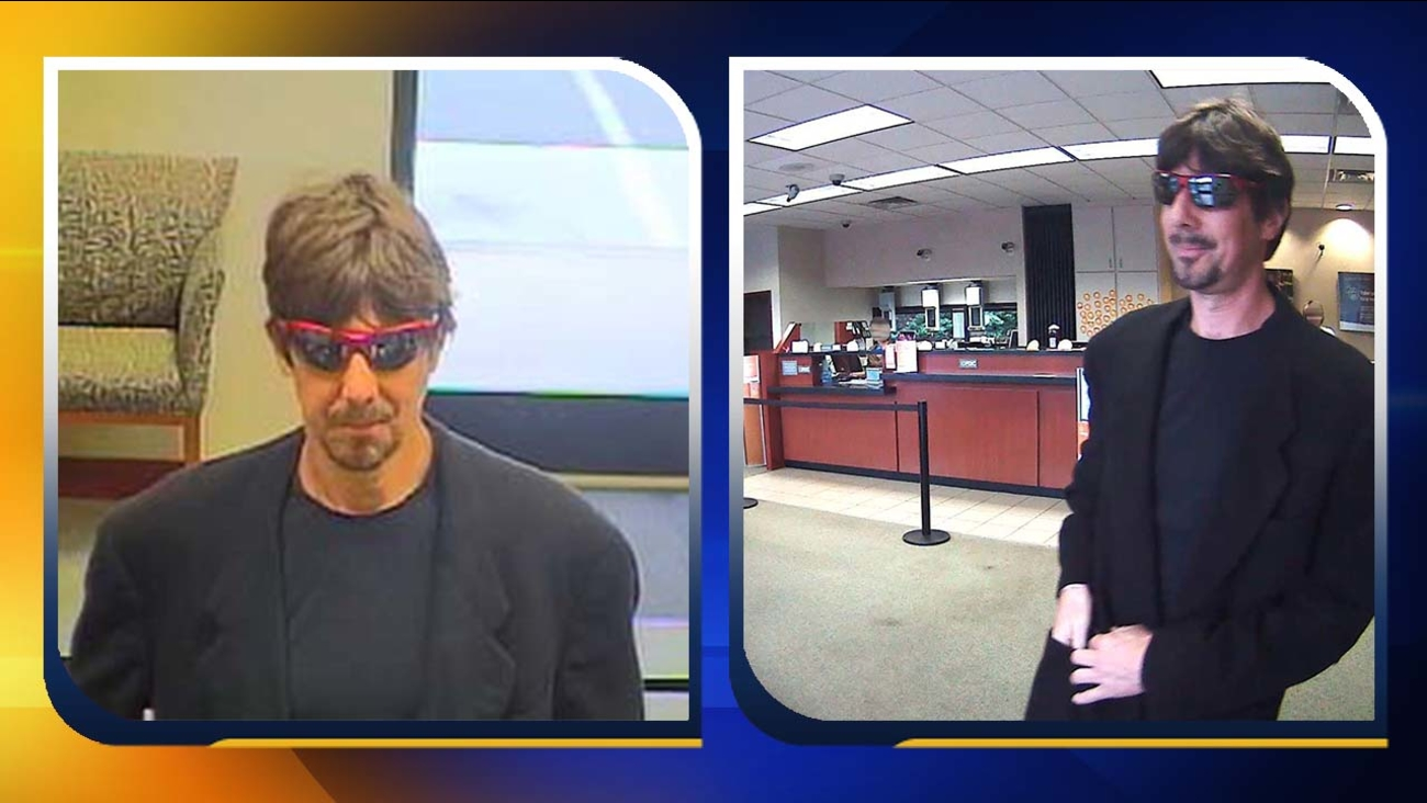 Surveillance images from the Suntust Bank on Dobbins Drive