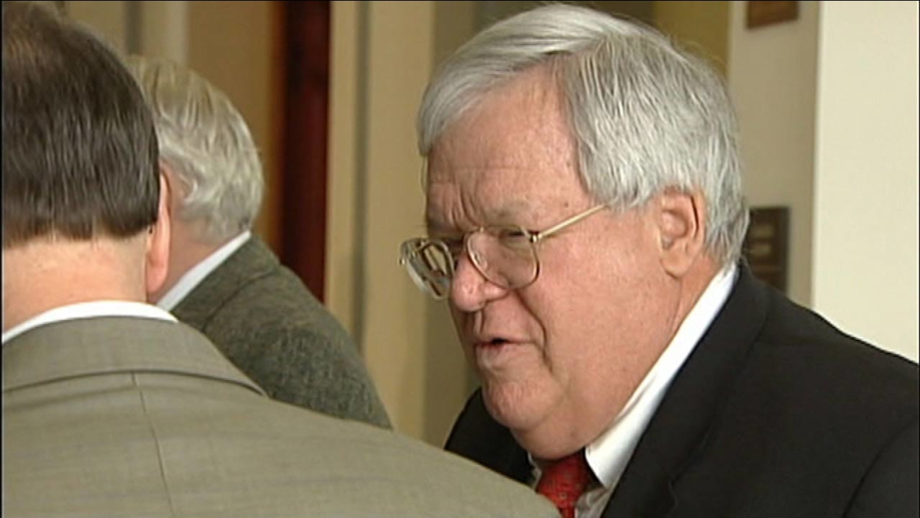 Dennis Hastert is seen in this undated file photo.