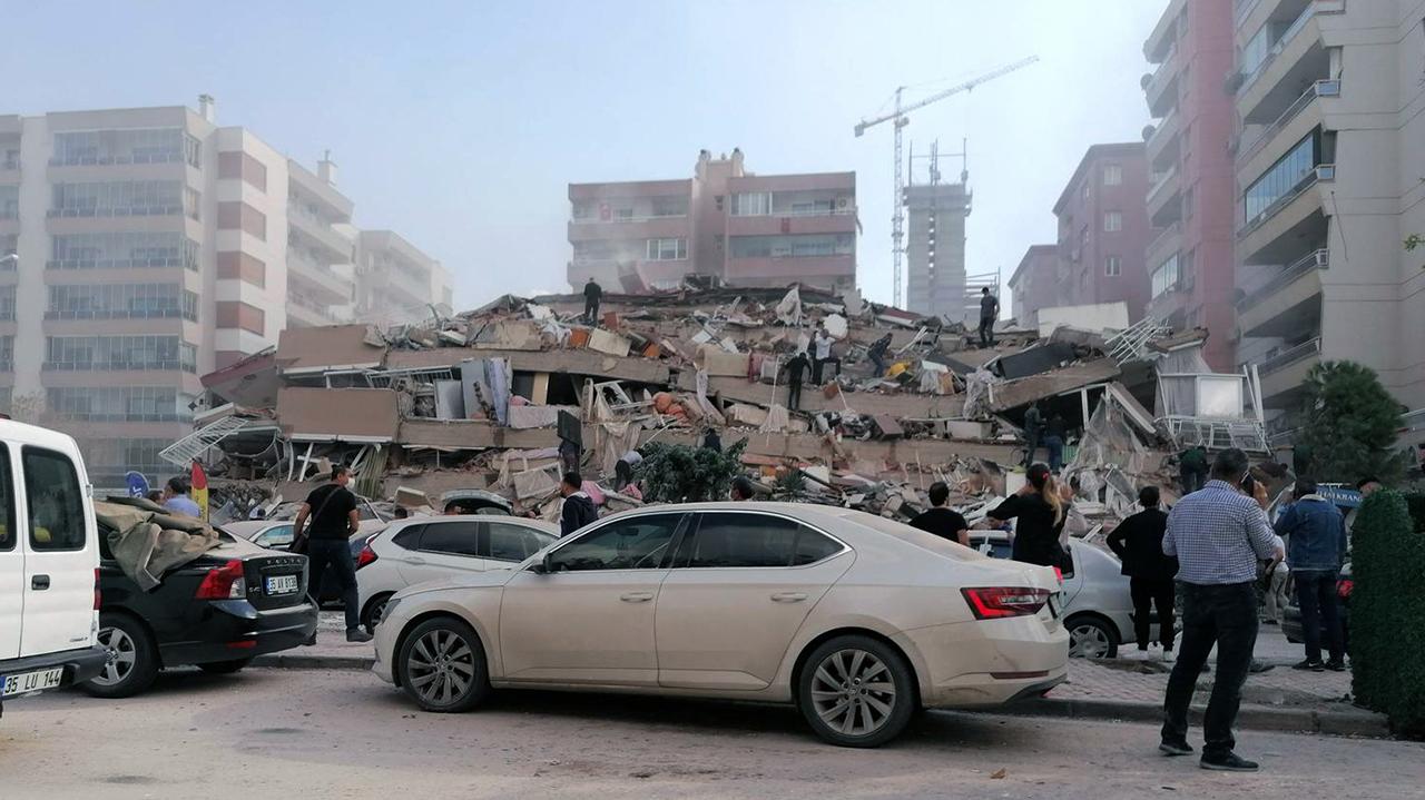 Turkey earthquake: 4 dead, 120 injured, health minister says
